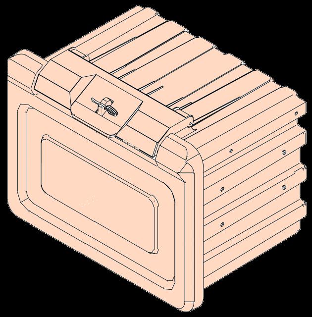 6500470 Ящик 650x540x610mm без ступеньки