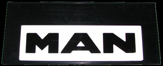 90138 Кмт задних светоотражающих брызговиков 660-270mm MAN