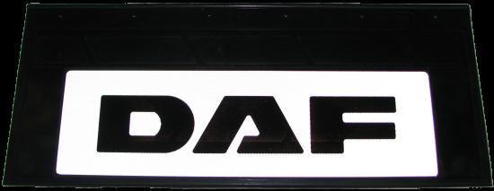 90139 Кмт задних светоотражающих брызговиков 660-270mm DAF