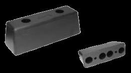 198800 Отбойник резиновый задний 250x85x90mm