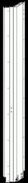 6411926 Передняя правая угловая стойка