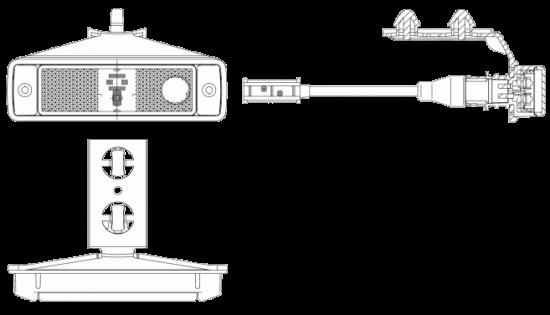 6602842 Фонарь LED бокового габарита Kogel