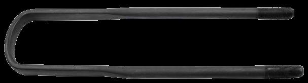 0600261 Cтремянка IVECO M24x2 100x535 задняя