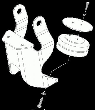 361626 Механизм подъёма оси