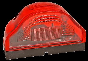 5710402 Фонарь подсветки номера красный