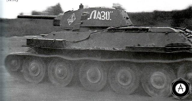 Т-34 Лазо на марше 1942