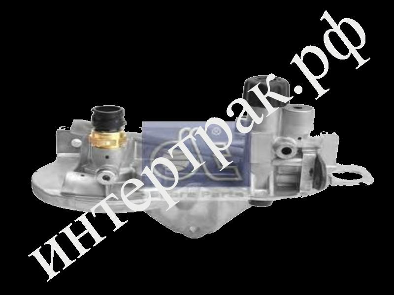 Площадка топливных фильтров с помпой ручной подкачки VOLVO/RVI