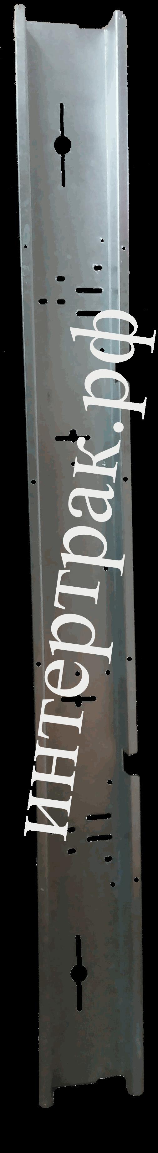 Бампер полуприцепа L=2400mm Универсальный ОЦИНКОВАННЫЙ