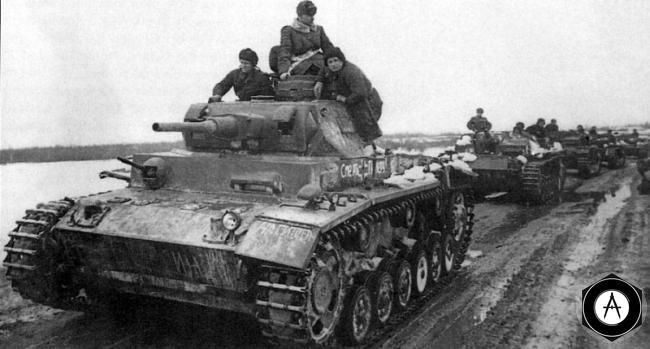 танкисты РККА на трофейной технике 1943