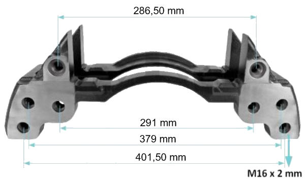 20231 Скоба суппорта SN7-SB7