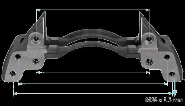 K001530 Скоба суппорта правая SN7-SB7 22,5
