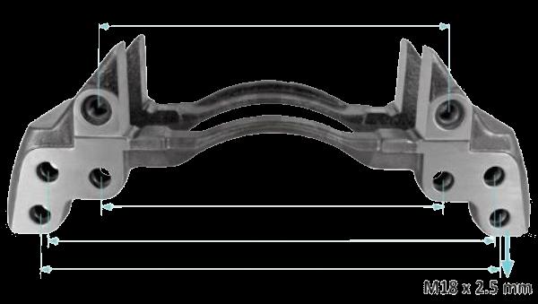 K011479 Скоба суппорта SN7-SB7 22,5
