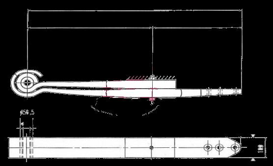 F179Z125ZA75 Полурессора BPW