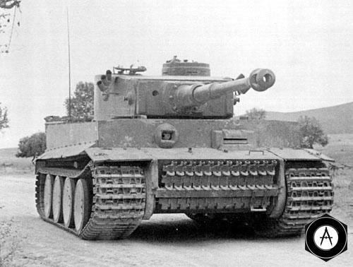 Тигр на марше