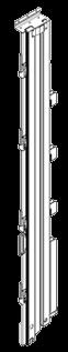 21001751 Стойка угловая задняя правая стальная