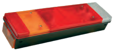 TransMash RUS. 5168770. Фонарь задний с треугольником левый CHEREAU с APM разьём_
