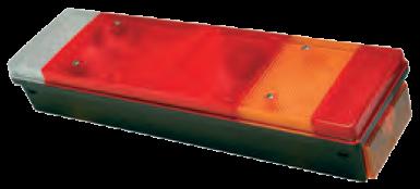 TransMash RUS. 5168790. Фонарь задний с треугольником правый CHEREAU с APM разьём_