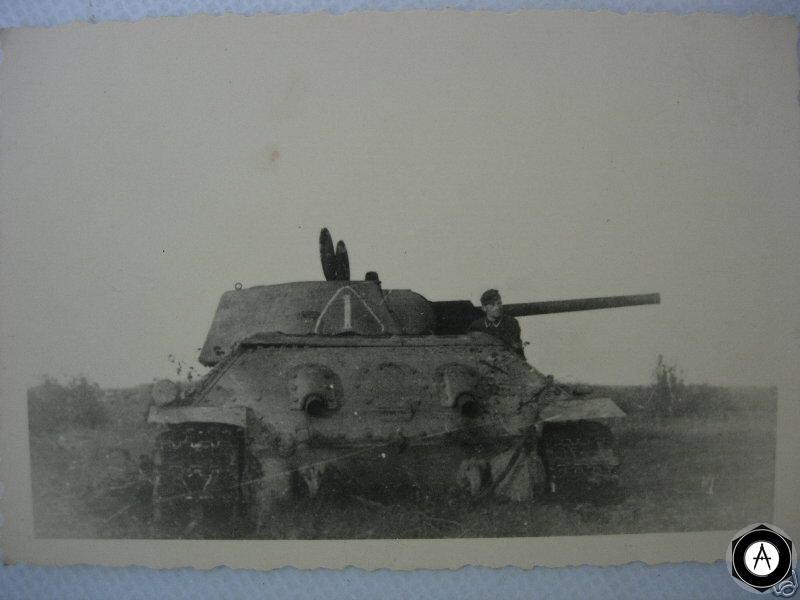 фото немецкого солдата и Т-34