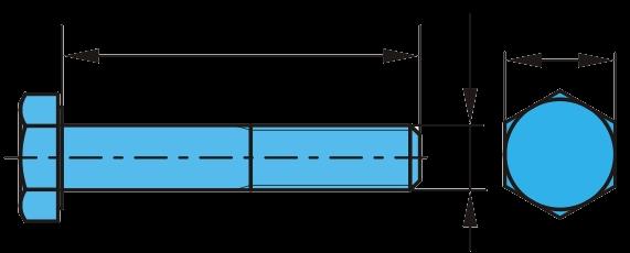 0624300 Болт амортизатора М24 L=300 mm