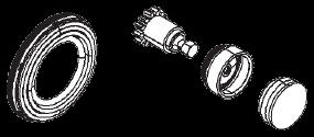 6401759302 Пыльник подводного винта и ключик подвода