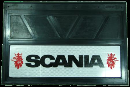 90149 Кмт 2шт Логотип SCANIA светоотражающих брызговиков 600x400mm