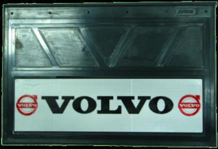 90150 Кмт 2шт Логотип VOLVO светоотражающих брызговиков 600x400mm