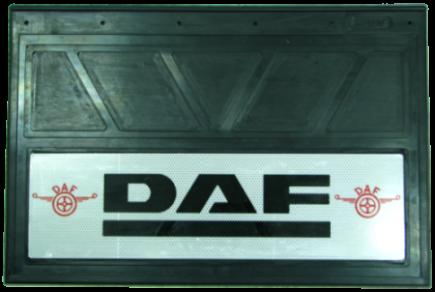 90151 Кмт 2шт Логотип DAF светоотражающих брызговиков 600x400mm