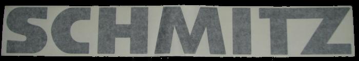 920719 Наклейка SCHMITZ  цельная черная 706х98мм