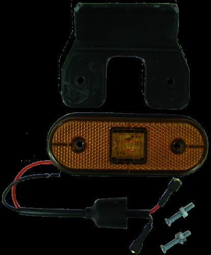 TransMash RUS. 5212000035. Фонарь боковой габаритый UNIPOINT I SCHMITZ LED кронштейн, провод_