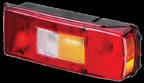 TransMash RUS. 5511613. Задний фонарь правый с AMP разьёмом VOLVO, ГАЗ NEXT (C41R11.371601001)