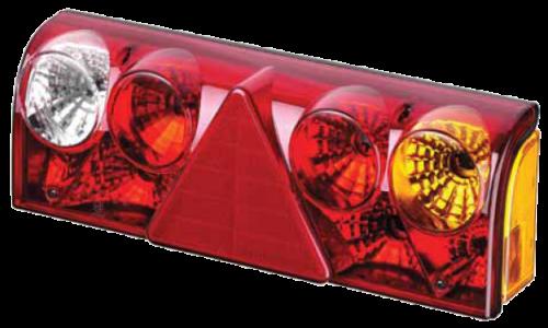 5611456 Задний правый фонарь жёлтый поворотник SCHMITZ EUROPOINT II с кабелем