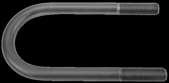 611114 Стремянка M20x205х92 рессоры