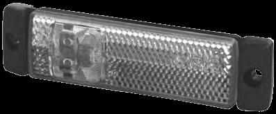2PG008645041 Боковой белый маркировочный фонарь система HELLA
