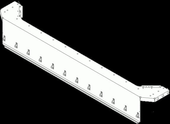 6109934 Козырёк портала передний верхний
