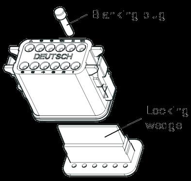 K002287N00 Разъемное соединение 12pin KNORR