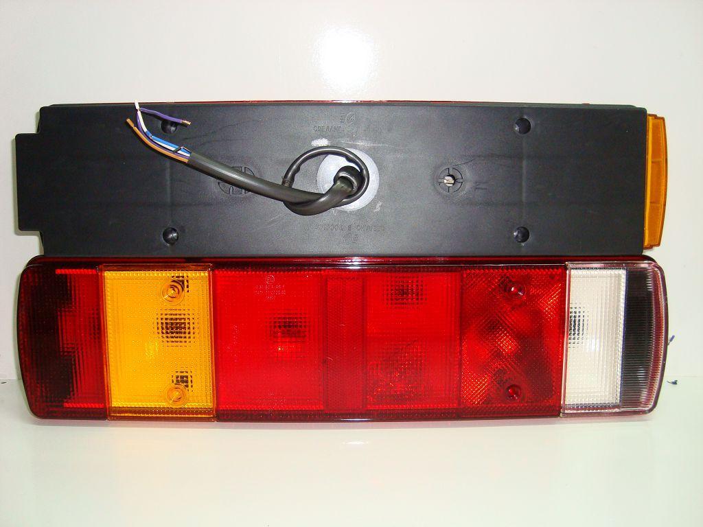 5637094 Фонарь задний Volvo-Scania с кабелем 6 секц Левый