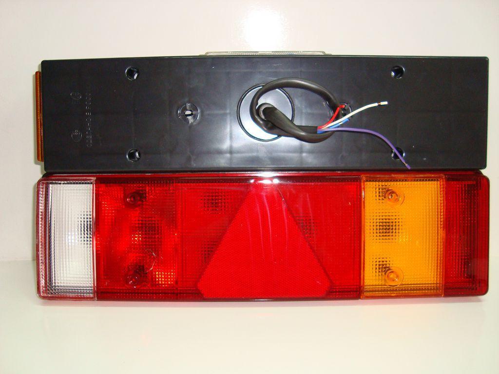 5603012 Фонарь задний Прицеп Треугольник с кабелем Правый