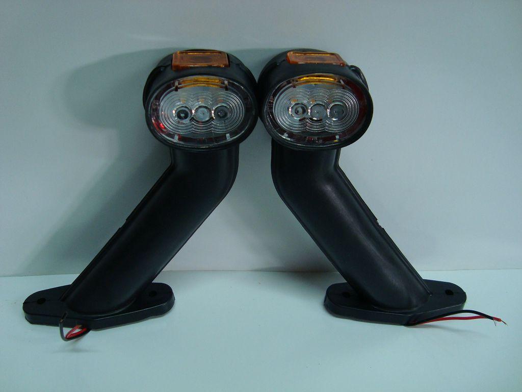 5313404017 Фонарь полного габарита-рог LED левый с кабелем