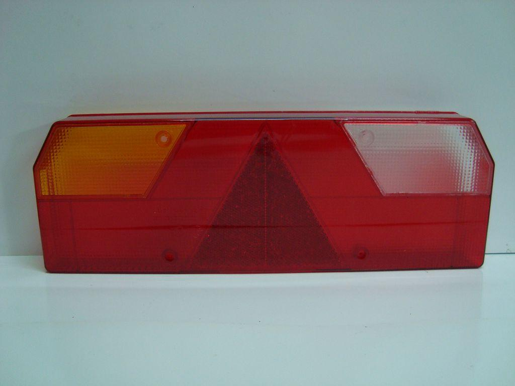 TransMash RUS. 56023011211. Рассеиватель фонаря задний Прицеп левый желтый поворотник_