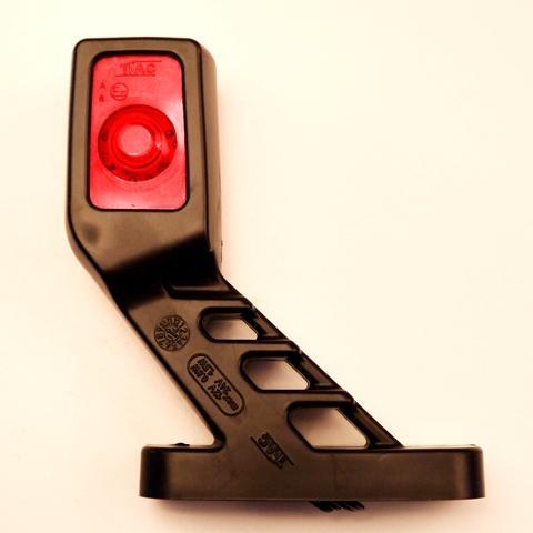 5710241R Фонарь габаритный LED квадрат,2 диода 12В