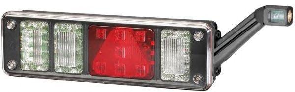 TransMash RUS. 5611433. Фонарь задний левый KRONE NEW с AMP разъём, ламповый с габаритом LED