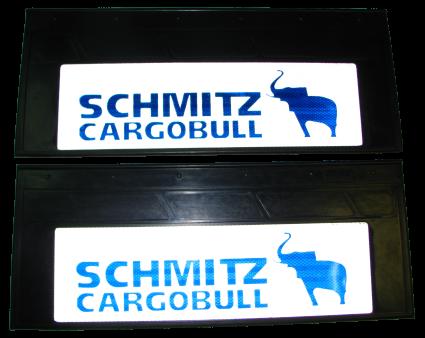 90099 Брызговик 660х270mm SCHMITZ CARGOBULL задний светоотражающий комплект