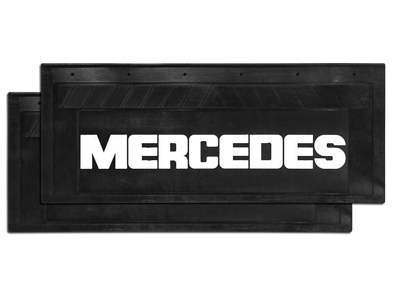 90100 Брызговик 660х270mm MERCEDES задний к-т 2 шт