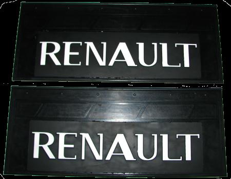 90107 Брызговик 660х270mm RENAULT задний к-т 2 шт