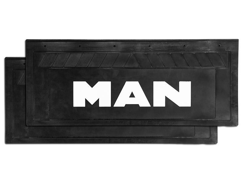 90131 Кмт задних брызговиков 660mm - 270mm MAN