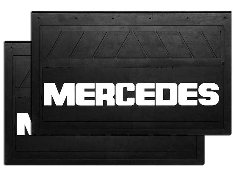 90133 Кмт задних брызговиков MERCEDES 580x360mm