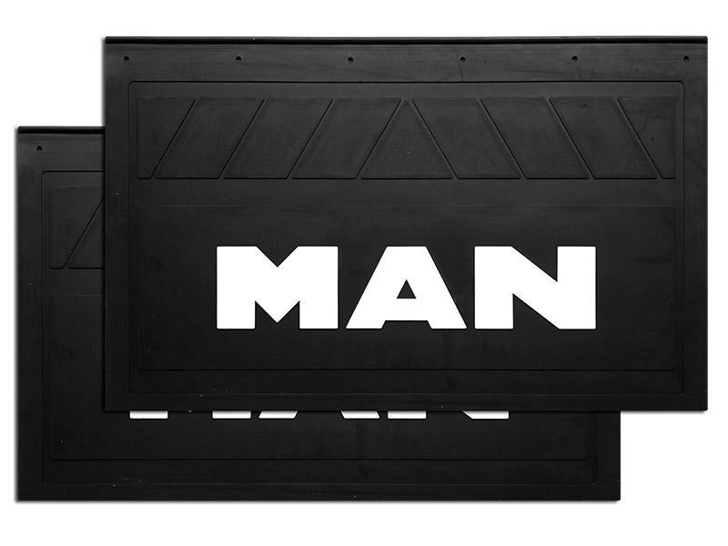 90135 Кмт задних брызговиков MAN 580x360mm