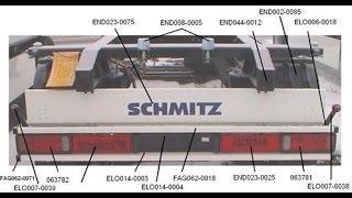 панель крепления светотехники ШМИТЦ