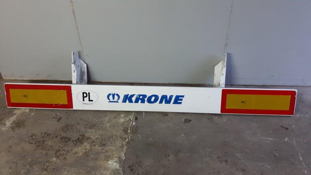 Полуприцеп Krone балка, бампер