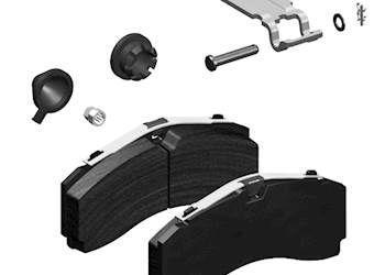 6501615 JOST тормозные колодки для DCA SK7